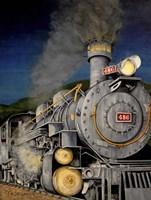 Night Train Fine Art Print