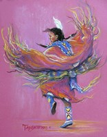 Shawl Dancer Fine Art Print