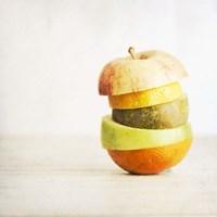 Fruit Pieces as one Fine Art Print