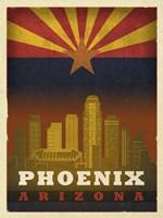 Phoenix Flag Fine Art Print