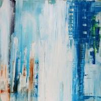 Blue Rain Fine Art Print