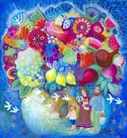 Flowers From Israel Fine Art Print