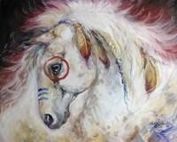Apache The War Pony Fine Art Print