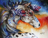 Appaloosa Indian War Horse Fine Art Print