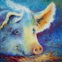 Baby Blues Piggy Fine Art Print
