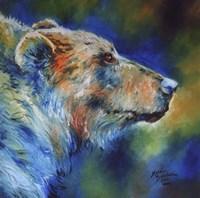 Bear Abstract Fine Art Print