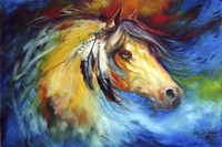 Blue Thunder War Pony Fine Art Print