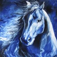 Blue Thunder Fine Art Print
