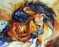 Dance Of The Wild One Fine Art Print