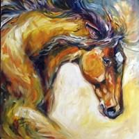 Determined Equine Fine Art Print