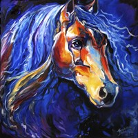 Friesian Night Fine Art Print