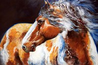 Mohican Indian War Horse Fine Art Print