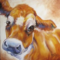 My Jersey Cow Commission Fine Art Print