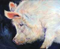 My Pink Pig Fine Art Print