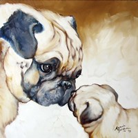 Pug 2 Fine Art Print