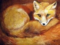 Red Fox Den Fine Art Print