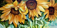 Sunflower Dance Fine Art Print