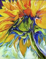 Sunflower In July Fine Art Print