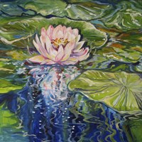 Sweet Lotus Fine Art Print