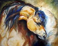 The Buckskin Fine Art Print