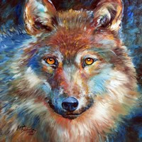 Timber Wolf Abstract Fine Art Print
