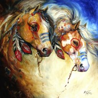 Warrior Spirits 2 Fine Art Print
