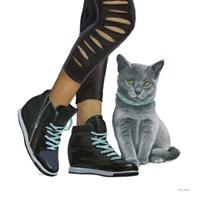 Cutie Kitties V Framed Print