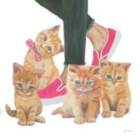 Cutie Kitties I Framed Print