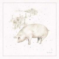 Farm Friends IX Neutral Fine Art Print