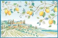 Mediterranean Breeze I Fine Art Print