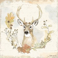 Woodland Wreath VIII Fine Art Print