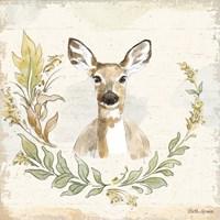Woodland Wreath VII Fine Art Print