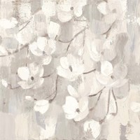 Magnolias in Spring I Neutral Fine Art Print