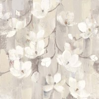 Magnolias in Spring II Neutral Fine Art Print