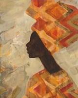 African Beauty II Framed Print