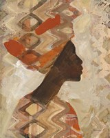 African Beauty I Fine Art Print
