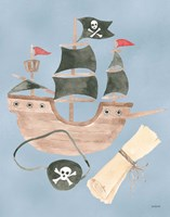Pirates IV Fine Art Print