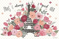 Paris is Blooming I Fine Art Print
