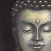 Serene Buddha I Crop Fine Art Print