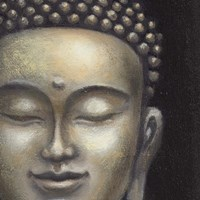 Serene Buddha II Crop Fine Art Print