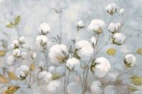 Cotton Field Blue Gray Fine Art Print
