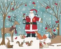 Woodland Christmas VI Fine Art Print