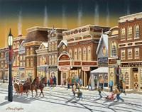 Hometown Christmas Fine Art Print