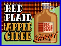 Apple Cider Crate Label Fine Art Print