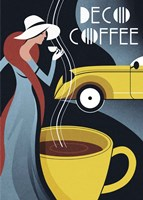 Art Deco Coffee Fine Art Print