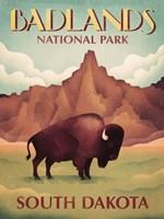 Badlands South Dakota Fine Art Print