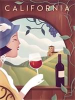 California Wine Fine Art Print