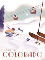 Colorado Skiing Fine Art Print