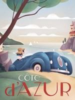 France Riviera Fine Art Print