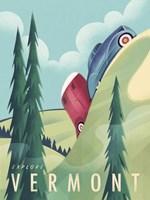 Vermont Camping Fine Art Print